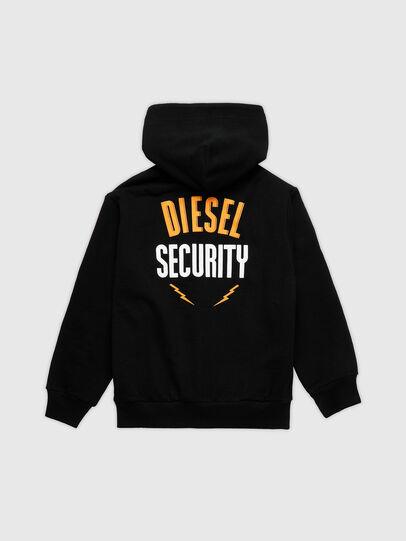 Diesel - SUMMERZIPN72 OVER, Schwarz - Sweatshirts - Image 2
