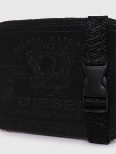 Diesel - BERUTO, Schwarz - Continental Portemonnaies - Image 4