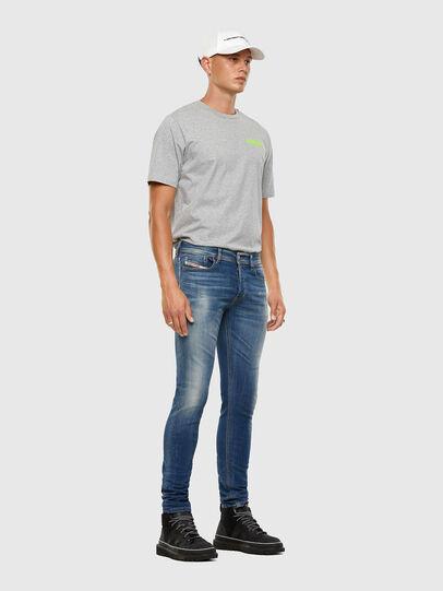 Diesel - Sleenker 009FC, Mittelblau - Jeans - Image 6