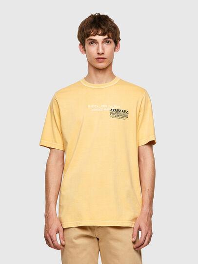 Diesel - T-JUBINDY-B1, Gelb - T-Shirts - Image 1
