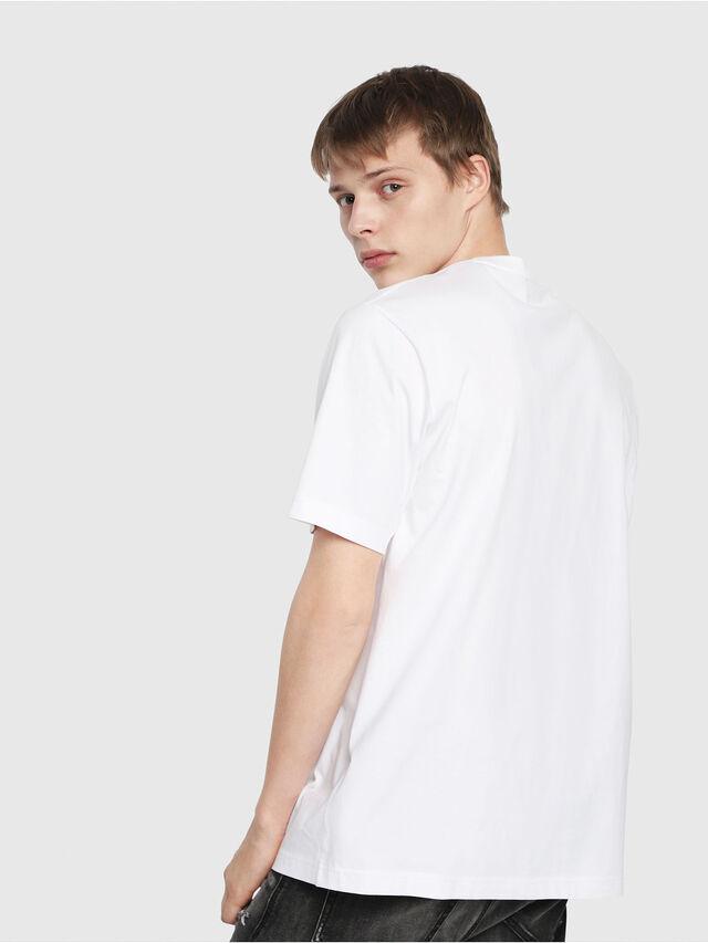 Diesel - T-JUST-Y2, Weiß - T-Shirts - Image 2