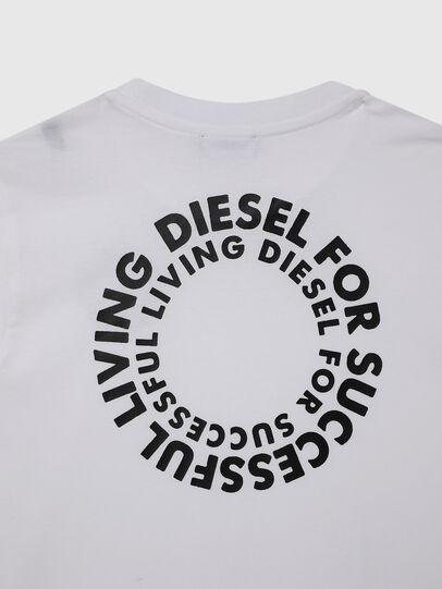 Diesel - TDIEGOSX46, Weiß - T-Shirts und Tops - Image 4