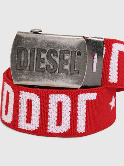 Diesel - BARTY, Rot/Weiß - Gürtel - Image 2