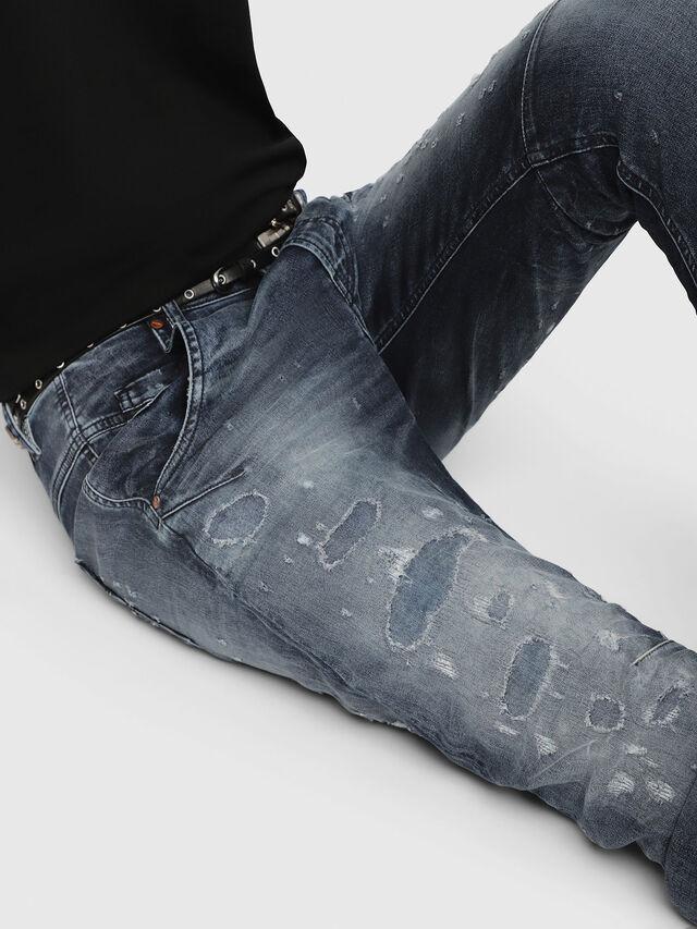 Diesel - Fayza JoggJeans 069CC, Mittelblau - Jeans - Image 3