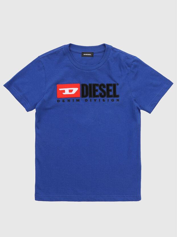 TJUSTDIVISION, Blau Meliert - T-Shirts und Tops