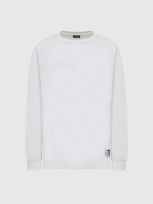 T-JUST-LS-MOHI, Weiß - T-Shirts