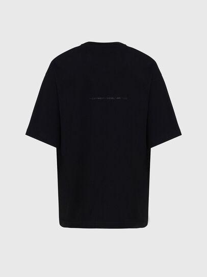 Diesel - T-BALL-X1, Schwarz - T-Shirts - Image 2