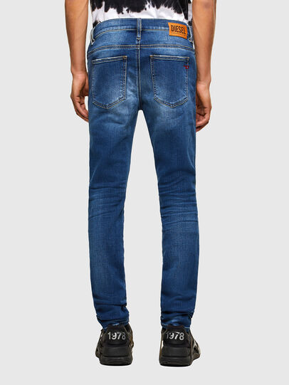 Diesel - D-Istort 009PU, Mittelblau - Jeans - Image 2