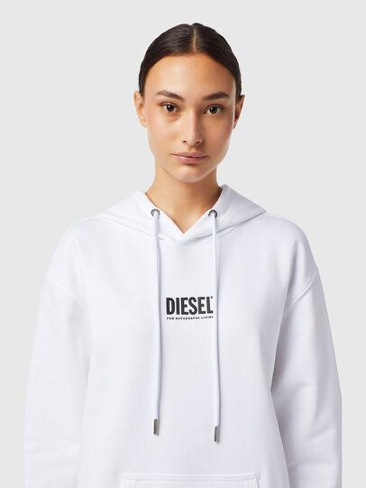 Diesel - D-ILSE-ECOSMALLOGO, Weiß - Kleider - Image 3