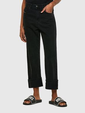 D-Reggy 009RL, Schwarz/Dunkelgrau - Jeans