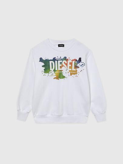 Diesel - SCREWDOSKY OVER, Weiß - Sweatshirts - Image 1