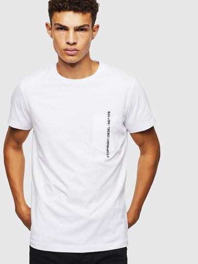 Diesel - T-RUBIN-POCKET-J1, Weiß - T-Shirts - Image 5