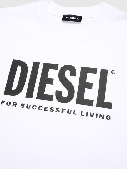 Diesel - TJUSTLOGO, Weiß - T-Shirts und Tops - Image 3