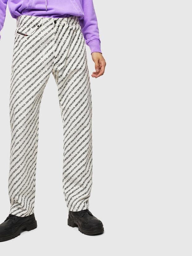D-Macs 069KU, Weiß - Jeans