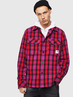S-GERRY-CHECK, Rosa - Hemden