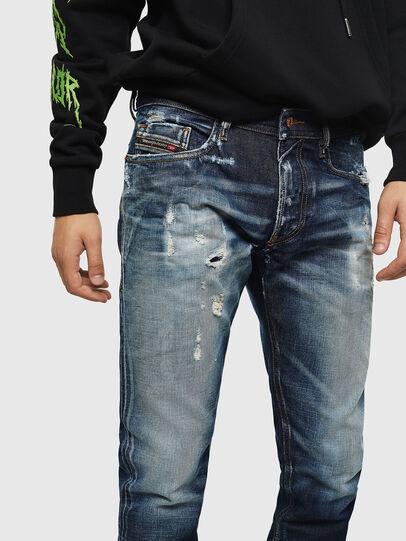 Diesel - Thommer 0092I, Dunkelblau - Jeans - Image 3