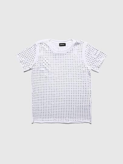 Diesel - TJRATY, Weiß - T-Shirts und Tops - Image 1