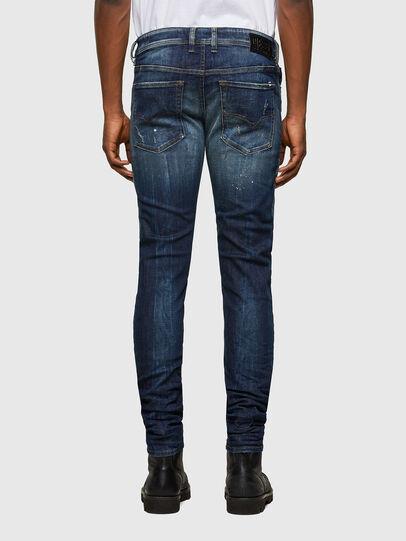 Diesel - Sleenker 0097L, Dunkelblau - Jeans - Image 2