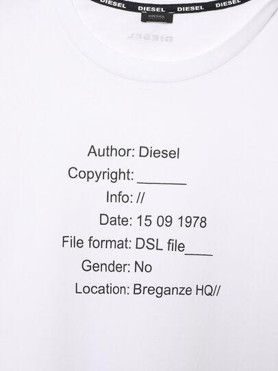 Diesel - UFTEE-ELODIE, Weiß - T-Shirts - Image 3