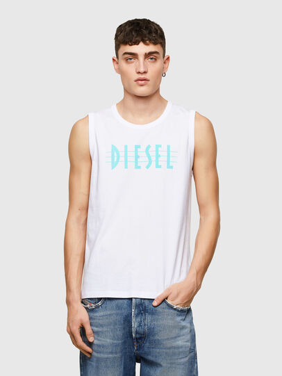 Diesel - T-OPPY, Weiß - T-Shirts - Image 1
