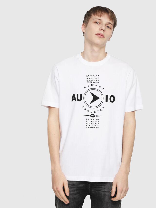 Diesel - T-JUST-Y2, Weiß - T-Shirts - Image 1