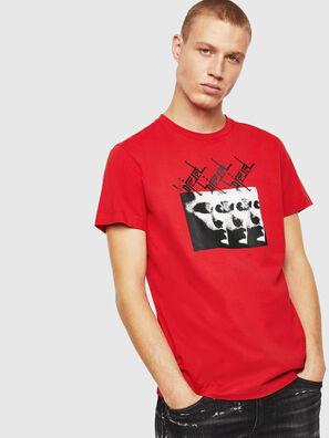 T-DIEGO-J12, Rot - T-Shirts
