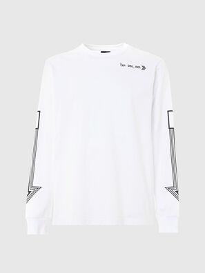 T-JUST-LS-A8, Weiß - T-Shirts