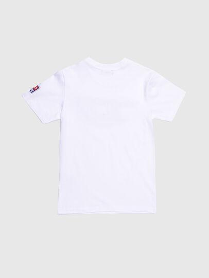 Diesel - TJUSTDIVISION-D, Weiß - T-Shirts und Tops - Image 2