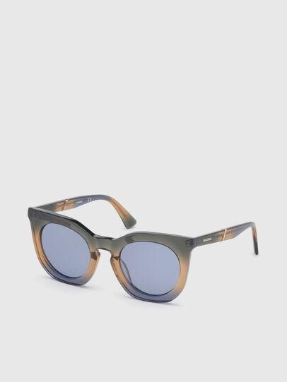 Diesel - DL0283, Blau/Gelb - Sonnenbrille - Image 2