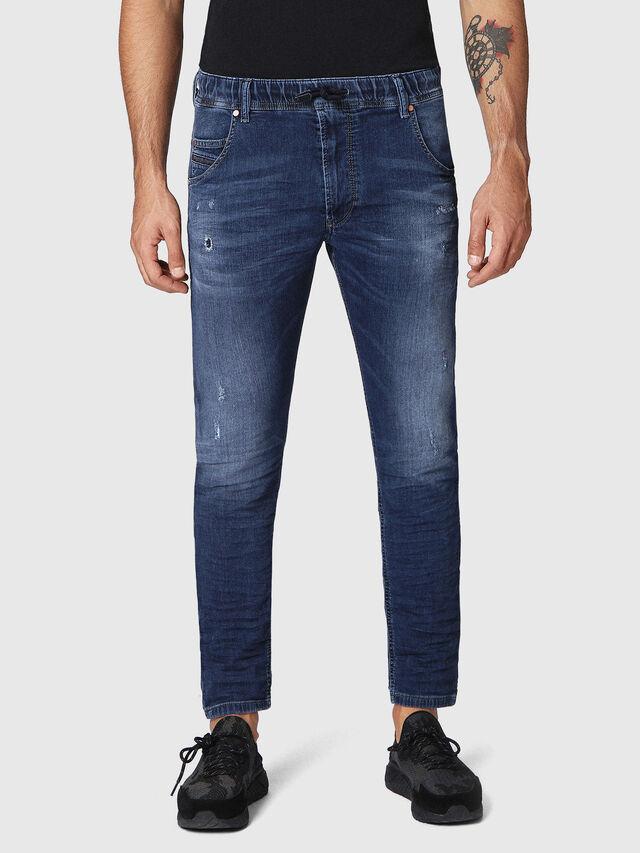 Diesel - Krooley JoggJeans 0686W, Dunkelblau - Jeans - Image 1