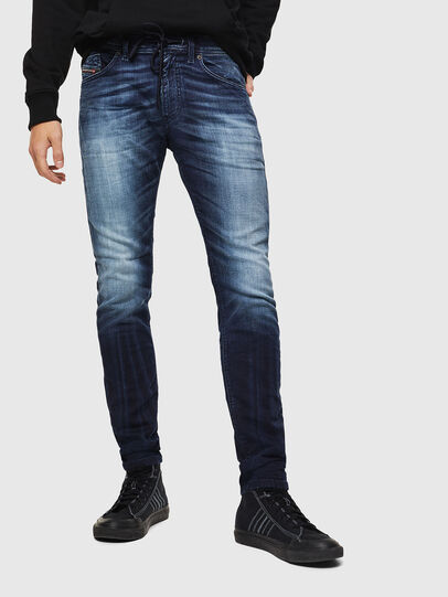 Diesel - Thommer JoggJeans 069IE, Dunkelblau - Jeans - Image 1