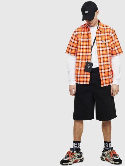 Diesel - S-ATWOOD-A, Orange - Hemden - Image 5