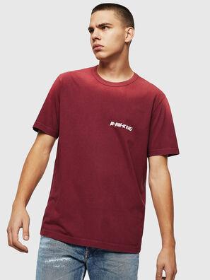 T-DIKEL, Bordeauxrot - T-Shirts