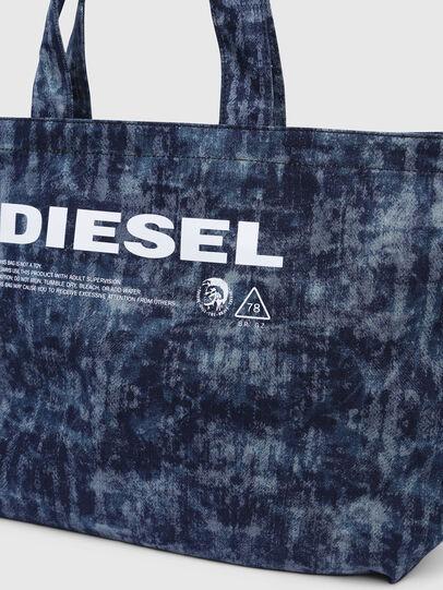 Diesel - D-THISBAG SHOPPER L, Jeansblau - Shopper und Schultertaschen - Image 3