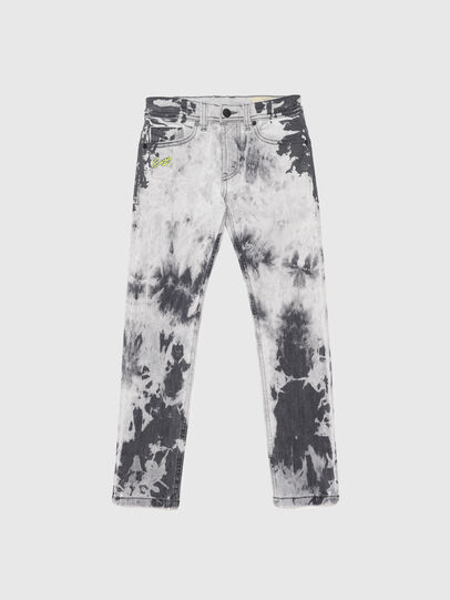 Diesel - THOMMER-J, Schwarz/Weiss - Jeans - Image 1