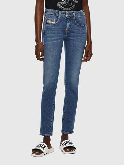 Diesel - D-Ollies JoggJeans® 069XA, Mittelblau - Jeans - Image 1