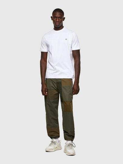 Diesel - T-JUSTY, Weiß - T-Shirts - Image 4