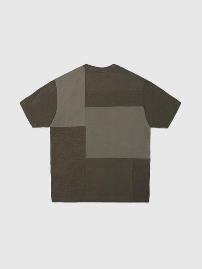 Diesel - TATCHWORK OVER, Armeegrün - T-Shirts und Tops - Image 2
