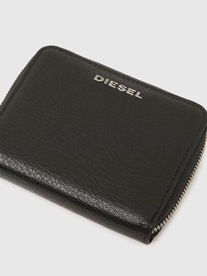 Diesel - CRASSU, Schwarz/Blau - Portemonnaies Zip-Around - Image 4