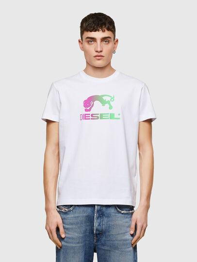 Diesel - T-DIEGOS-E30, Weiß - T-Shirts - Image 1