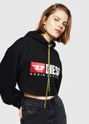 F-DINIE-A, Brillantschwarz - Sweatshirts