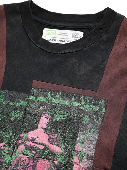 Diesel - D-FRANK&STEIN, Rot/Schwarz - T-Shirts - Image 3