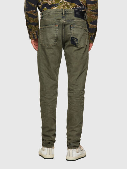 Diesel - D-Strukt 09A50, Armeegrün - Jeans - Image 2