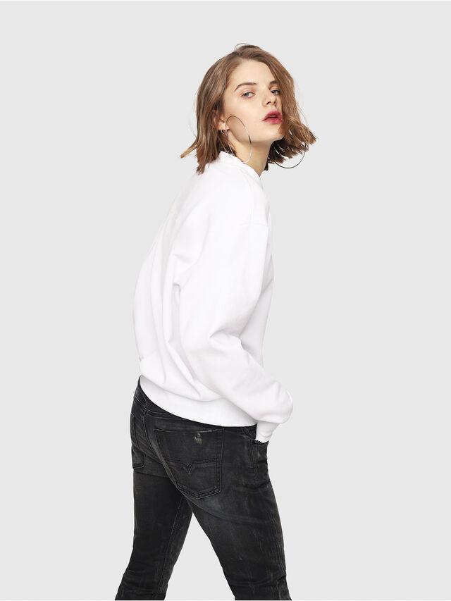 Diesel - CL-SNOR, Weiß - Sweatshirts - Image 4