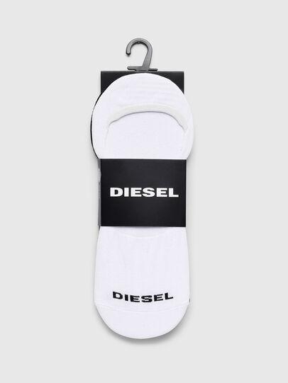 Diesel - SKM-NOSHOW-TWOPACK, Weiß/Schwarz - Strümpfe - Image 2