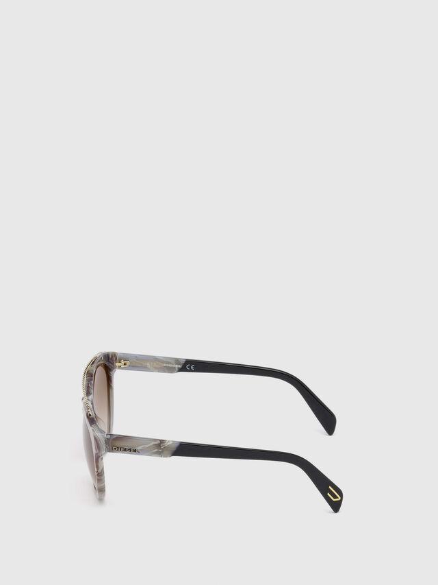 Diesel - DM0189, Grau - Sonnenbrille - Image 3