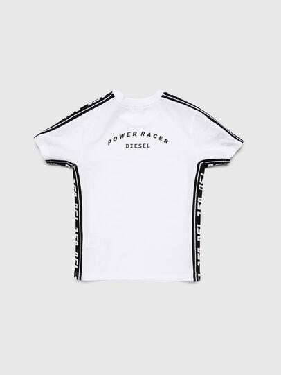 Diesel - TJUSTRACE, Weiß/Schwarz - T-Shirts und Tops - Image 2