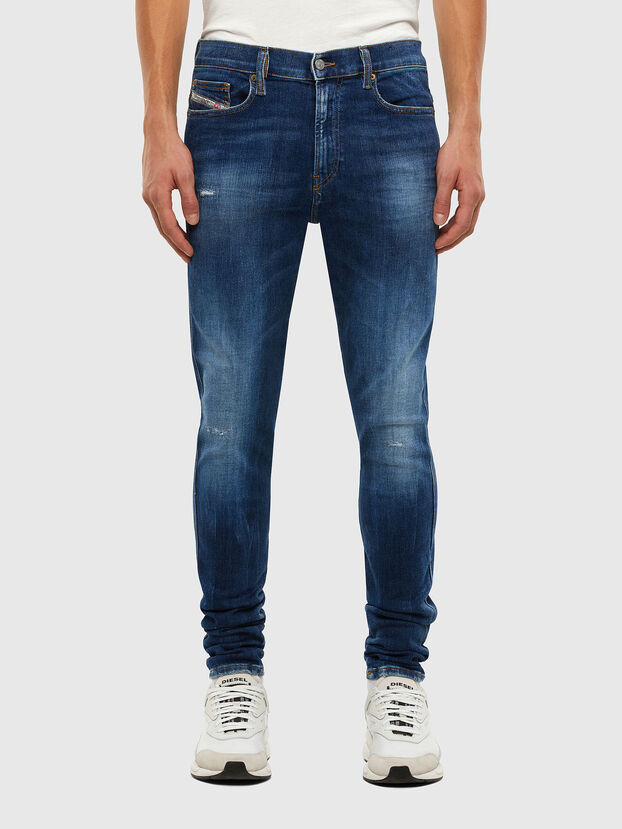 D-Istort 009CX, Mittelblau - Jeans