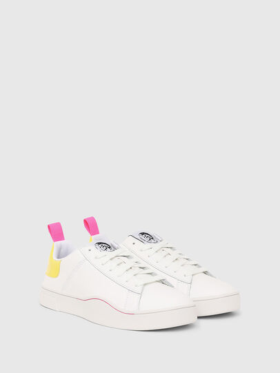 Diesel - S-CLEVER LOW LACE W, Weiß/Gelb - Sneakers - Image 2