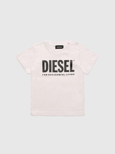 Diesel - TJUSTLOGOB, Weiß - T-Shirts und Tops - Image 1